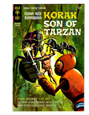KORAK, Son of Tarzan #21 in VF/NM  a Gold Key Comics 1967 Edgar Rice Burroughs