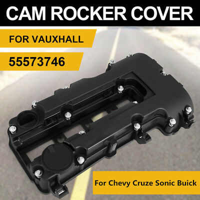 Camshaft Engine Valve Cover w/ Bolts & Seal For Chevy Cruze Sonic Buick 1.4L