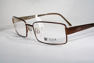 TIGER OF SWEDEN Copper Brown Optical Eyeglass Frames Glasses Men's Large / XL
