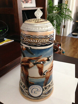 """1991 Stein """"The Waterfowl Series"""" """"Canada Goose"""" Ducks Unlimited."""