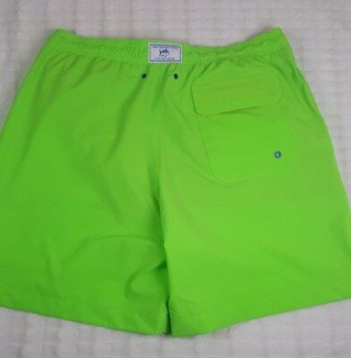 f9ad5e31ec Nwt New Southern Tide Men Lime Green Swim Trunk Boardshorts Shorts Sz Large