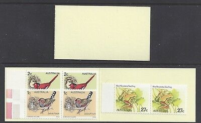 Australia 1982 3rd Trial Booklet - Plank Cover (60c) Perf 14 x 14.4  B145a