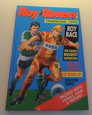 Roy of the Rovers Yearbook 1993 Annual - Hardback Football Book