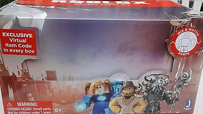 Roblox Series 3 Patient Zero Mini Figure Without Code No Packaging - Roblox Mystery Figure Series 4 Assortment 24 Pack Case