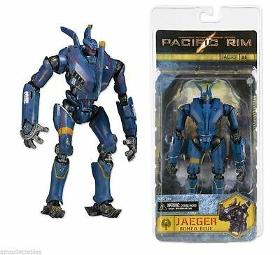 7' Jaeger Romeo Blue Pacific Rim  Pvc Action Figure Kid Figurines Robot Toy