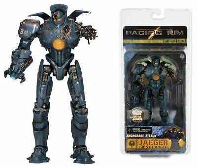 7' Jaeger Gipsy Danger Anchorage Attack Pacific Rim  Action Figure Robot Toy