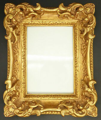 PHOTO FRAME, LOUIS XV STYLE - GILDED WOOD - FRENCH ANTIQUE - 27,50 cm / 10,84in