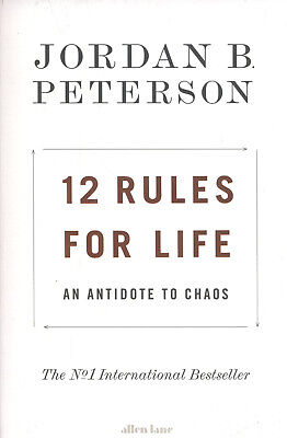12 Rules For Life by Jordan B Peterson An Antidote To Chaos Bestseller Paperback