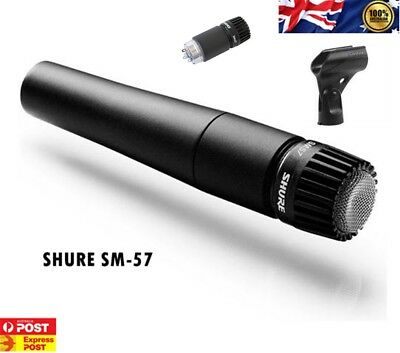 Shure SM57 Dynamic Instrument Microphone with Carry Bag AU STOCK