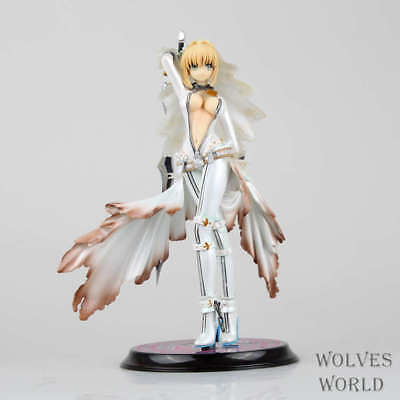 Fate/stay night Fate/EXTRA CCC Saber Bride PVC Figure Anime Model New No Box