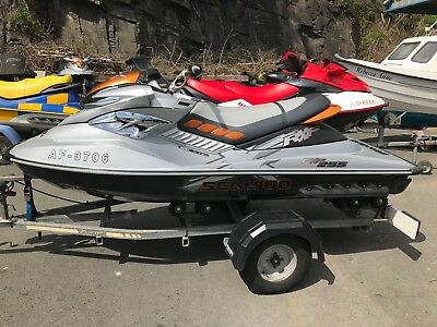 Seadoo RXP-X 255hp 2008 - 110hrs, Roller Trailer and cover, 3 months warranty!!