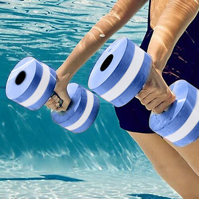 1Pc/1Pair Water Weight Workout Aerobics Dumbbell Fitness Swimming Barbell Unique