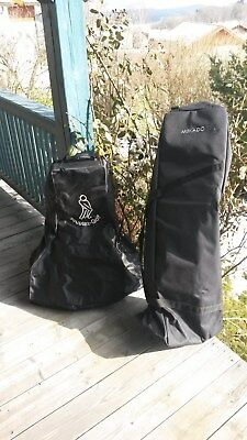 Set Travelbags für Golfbag und Trolley Caddy