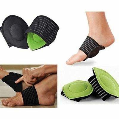 2 Foot Heel Pain Relief Plantar Fasciitis Insole Pad& Arch Support Shoes Insert
