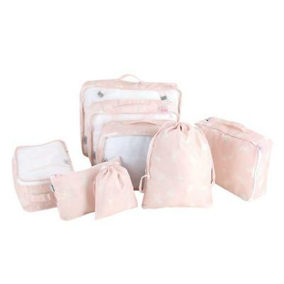 Yosooo Travel Packing Cube, 8 Pcs Multi-functional Packing Cube Clothes Luggage