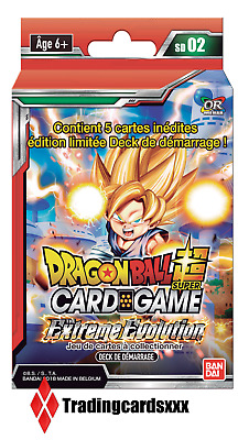 ♦Dragon Ball Super Card Game♦ Deck de Démarrage: The Extreme Evolution - VF/SD02