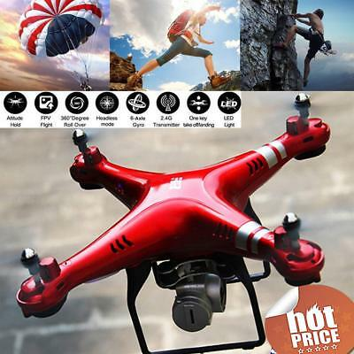 1080P 170° Wide Angle Lens HD Camera Drone RC Quadcopter Wifi FPV Toy Kids Gift