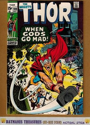 The Mighty Thor #180 (9.0) VF/NM 1970 By Neal Adams & Stan Lee