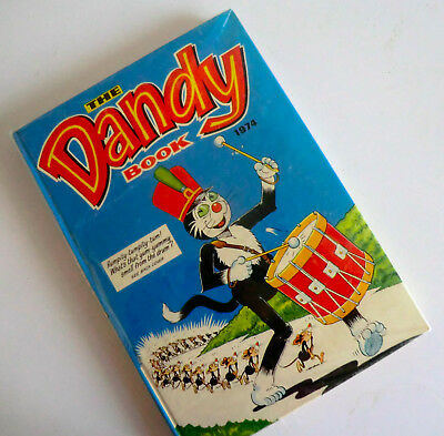 Unclipped Hb Annual - Dandy Book 1974 - Desperate Dan Korky Dirty Dick Smasher