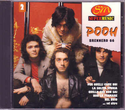 CD Pooh Brennero 66 Duck Record MOCD 6096 italy 1997