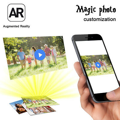 AR Augmented Reality Photos Pictures Albums Business Cards Home Video Customized