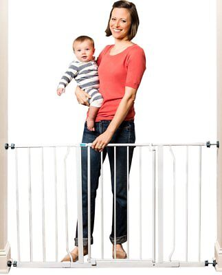 """Regalo Easy Open EXTRA WIDE 29-50"""" Pet Pets Baby Babies Child proof Tall Gate"""