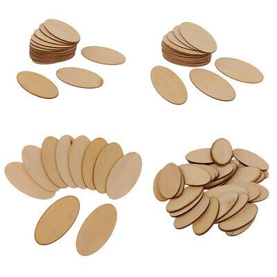 Natural Unpainted 1.5 mm Thick Wooden Cutouts Pieces DIY Handmade Woodcrafts