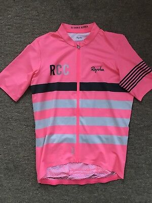 1a7da70df RAPHA RCC PRO Team Mid Weight Jersey Pink size Medium - £72.00 ...