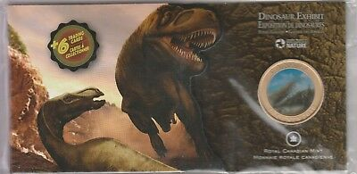 2010 Royal Canadian Mint 50 Cent Dinosaur Exhibit Coin