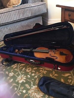 Stentor 4/4 Violin in Case with Bow Excellent Condition Used only Once or Twice.