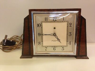 Vintage Art Deco Electric Mantel Clock