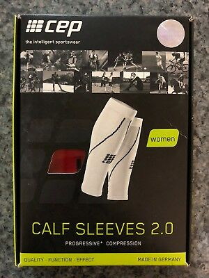 CEP Women Calf Sleeves 2.0 - Progressive+ Compression  RED size IV