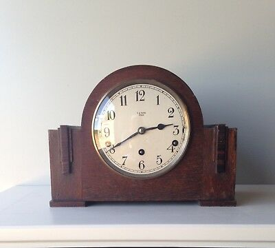 Vintage 1930 Garrard Clock With Westminster Chime