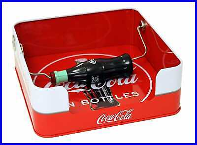 Coca Cola Flat Napkin Holder RED 6 1/2 X 2 H PARTY