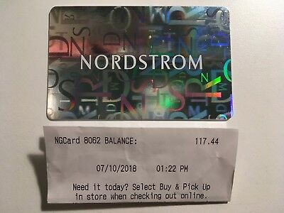 Nordstrom Gift Card Amount 117 44