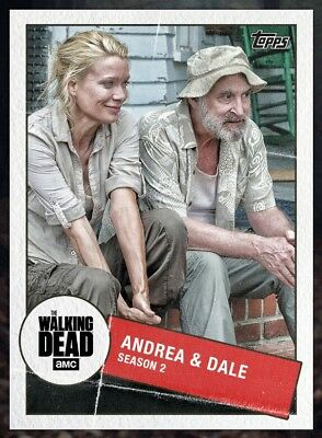 TOGETHER MARATHON WAVE1 ANDREA & DALE(S2) Topps Walking Dead Trader Digital Card