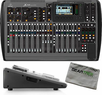 Behringer X32 32-channel 16-bus digital mixing console w/ Decksaver Pro Cov