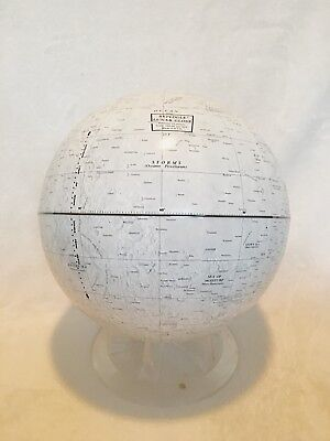 12'' Replogle moon globe. NASA Approved