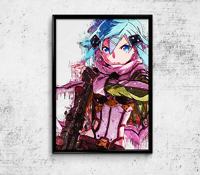 "Sword Art Online Anime Poster Manga Print 33x47/"" SAO Japan Wall Art Gift SG109"