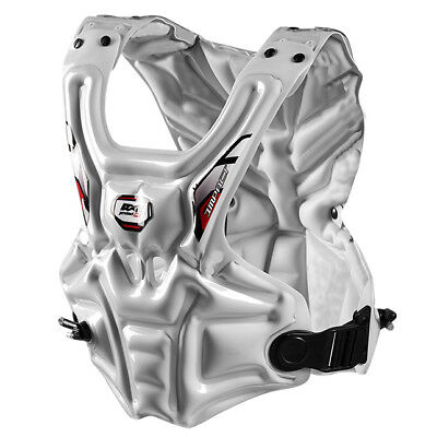RXR Impact Inflatable Chest Protector White S-M YOUTH ADULTS MOTOCROSS ENDURO MX