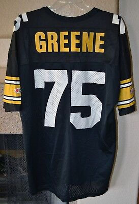 separation shoes 846ef 88cea 'MEAN' JOE GREENE Autographed Pittsburgh Steelers Jersey Coca Cola Size 48