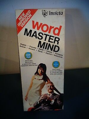 Vintage Invicta Word Master Mind Game No 3071 Unused Niob