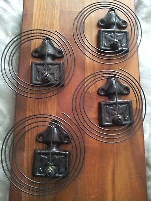 Clock Parts-Antique Coil Gong Strike Chime-Brand new Old Stock x4   Ex Condition