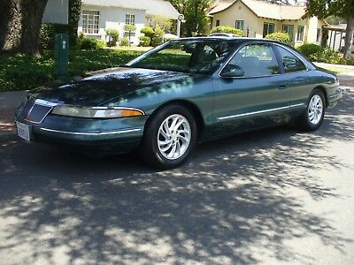 1995 Lincoln Mark Series GREEN Gorggeous California Rust Free Lincoln Mark VIII Amazing Condition 53,000 Miles