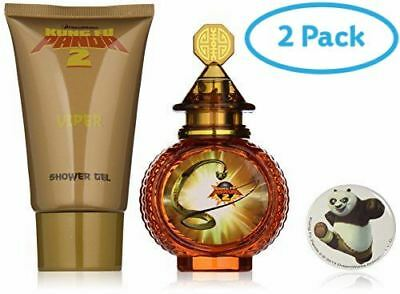 2 Packs of Kung Fu Panda Viper Gift Set 50ml EDT + 75ml Shower Gel