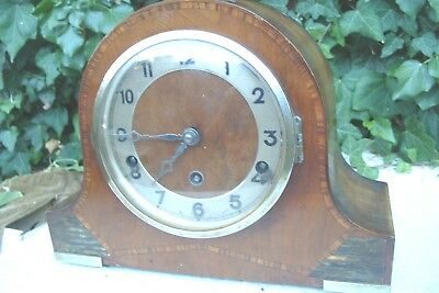 Mantel  Clock  Fhs Westminster  Striking  Clock