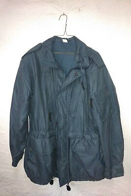 Canadian Army Winter Coat / Parka - Goretex - Size 73/44 Air Force Blue