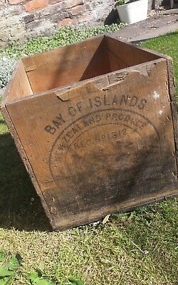 Original vintage Rustic Wooden Box, Home Decor, Prop, weddings, wood crate