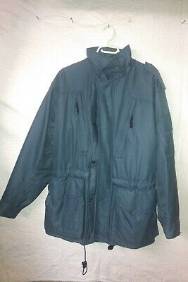 CANADIAN ARMY WINTER COAT / PARKA - GORETEX - SIZE 67/36 air force blue
