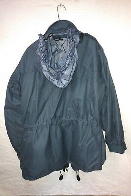 CANADIAN ARMY WINTER COAT / PARKA - GORETEX - SIZE 70/36 air force blue
